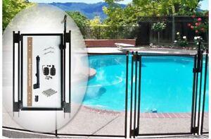 Brand-New-Pool-Fence-DIY-by-Life-Saver-Self-Closing-Gate-Kit-Black