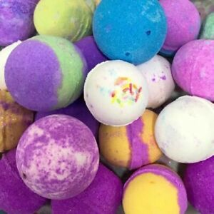 Details about Bath Bombs Scented 10 x 55g Mixed Fragrance Completely Vegan  Gentle to Skin