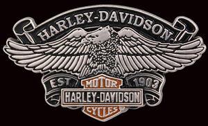HARLEY DAVIDSON SCREAMIN/' EAGLE DIE CAST RACE HARLEY  PIN