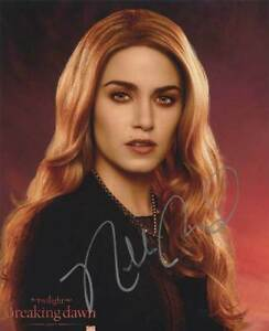 New Moon Breaking Dawn Eclipse Autograph Autogramm Nikki Reed Twilight