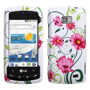 Lovely-Flower-Hard-Case-Snap-on-Cover-for-LG-Ally-VS740