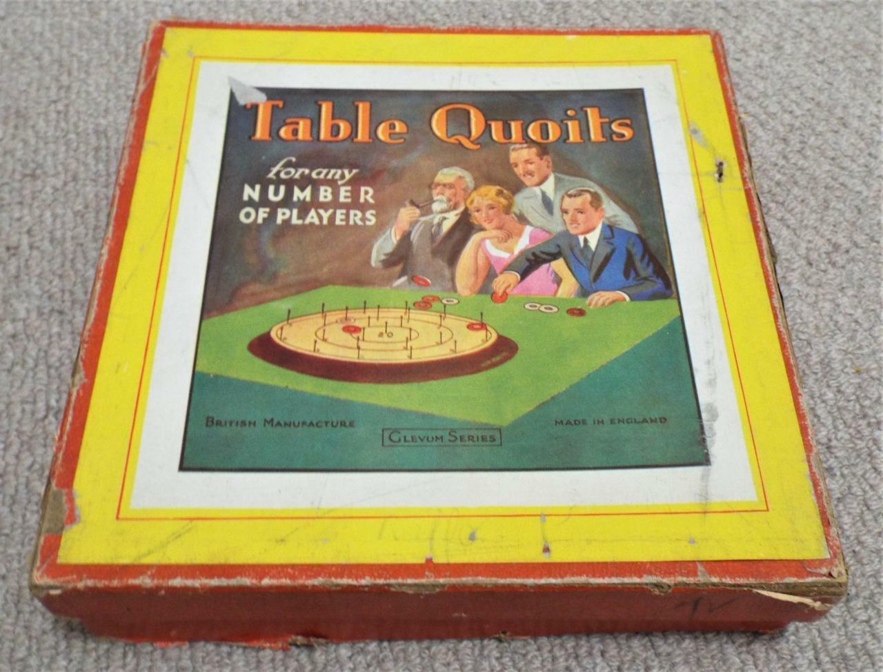 Table Quoits - Vintage 1920's  Glevum Games  Game