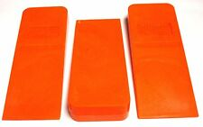 """8"""" Falling / Felling & Bucking Timber Logging Chainsaw Wedges (3-Pack)  H96TS(3)"""