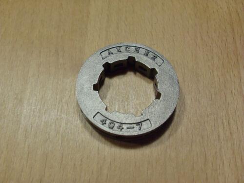 Anillo de sustitución rueda dentada anillo cambio piñón 7 dientes .404 1,6 mm estándar de grabación