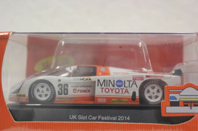 Slot It Sisc 19 A Toyota 88 C Uk Special Edition 1 32 Slot Car In Display Case