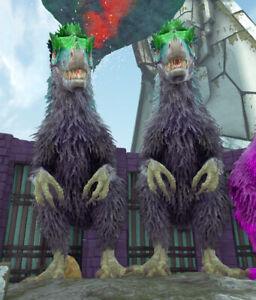 Ark Survival Evolved Xbox One PvE   Yuty   x2 Purple Fur Yutyrannus Fert Eggs