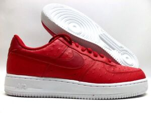 Details about NIKE AIR FORCE 1 '07 LV8 GYM REDGYM RED WHITE SIZE MEN'S 11.5 [718152 603]