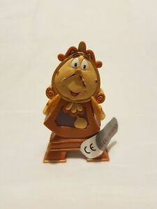 Bullyland Disney Cogsworth the Clock Figure Figurines Toy Cake Topper Toppers