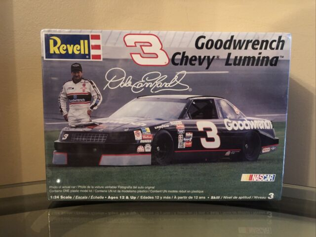 UNDATED 24X36  POSTER CHEVROLET GOODWRENCH  LUMINA DALE EARNHARDT THUNDER GM