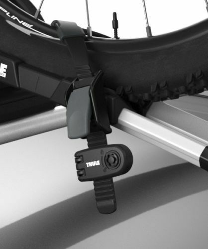 Thule 986 Wheel Strap Locks Only Fits Thule Plastic Wheel Straps Pair