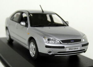 Minichamps-1-43-Scale-Ford-Mondeo-MK3-4dr-2000-Silver-Diecast-model-Car