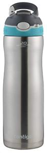 Scuba 20 oz Contigo AUTOSPOUT Straw Ashland Chill Stainless Steel Water Bottle