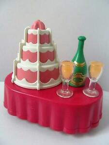 Groovy Playmobil Cake Champagne Table New Dollshouse Wedding Birthday Funny Birthday Cards Online Hetedamsfinfo