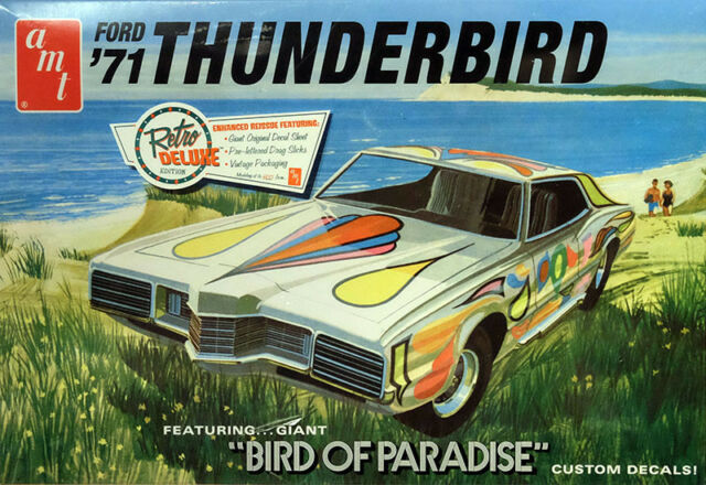 1971 FORD THUNDERBIRD Bird of Paradise 1:25 AMT Model Kit Kit amt920 T-Bird