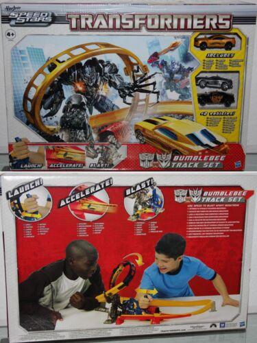 .speed Star Bumblebee Track Set-With Bumblebee #16 Transformers-Hasbro