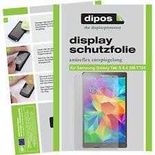 2x dipos Samsung Galaxy Tab S 8.4 T705 m.T. matte Displayschutzfolie Antireflex