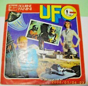 ALBUM FIGURINE UFO SHADO PANINI 1973 COMPLETO COLORI RARO E BELLOCOMPRA   SUBITO