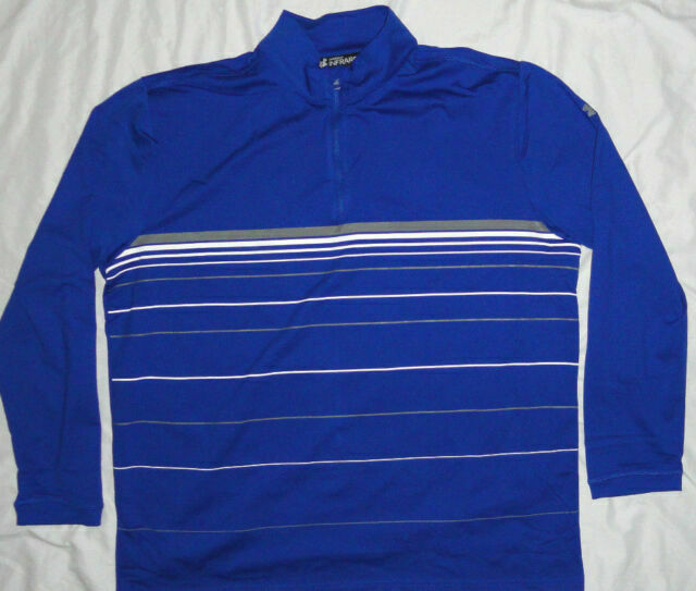 NEW UNDER ARMOUR Infrared 1//4 zip Pullover Shirt Mens 3X 3XL XXXL Navy NWT!