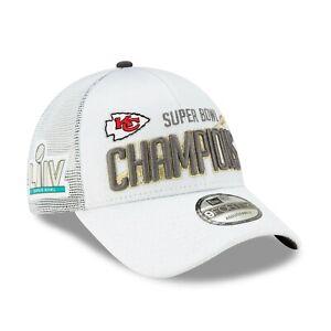 Kansas City Chiefs New Era 9FORTY Super Bowl Champions Locker Room Hat Cap