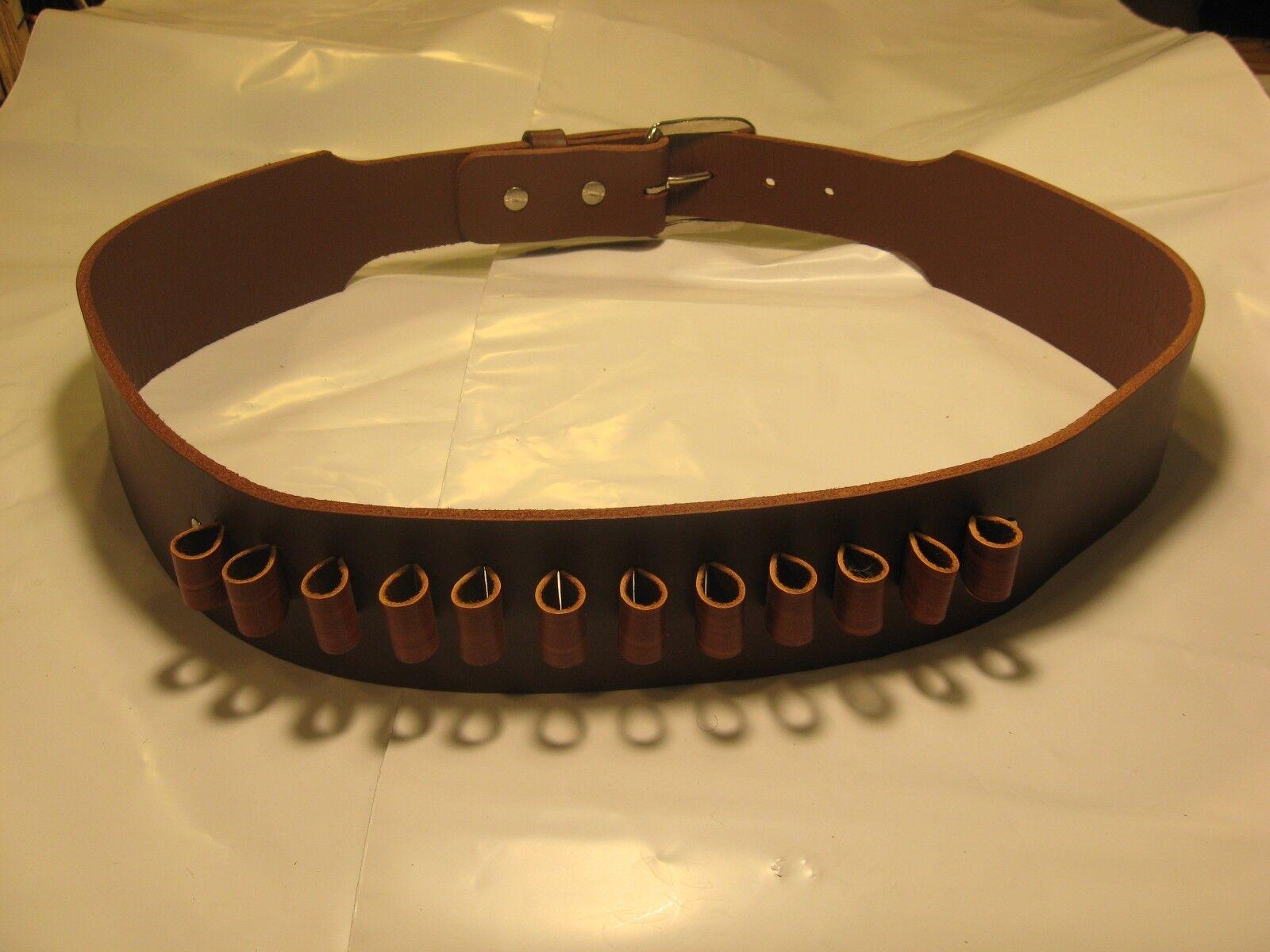 Cinturón de cuero occidental pistola con pistola de cartucho de bucles de cinturón de Pistola de estilo tubular