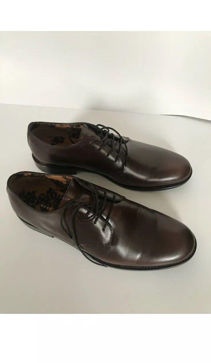 Marc Jacobs Colección Oxfords marrón de cuero
