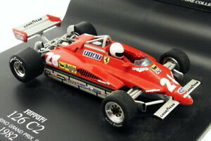 Hotwheels 1/43 Scale 50218 - F1 Ferrari 126 C2 San Marino GP Imola 1982