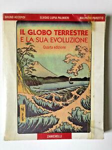 ZANICHELLI-Libro-IL-GLOBO-TERRESTRE-E-LA-SUA-EVOLUZIONE-Quarta-Edizione-1993