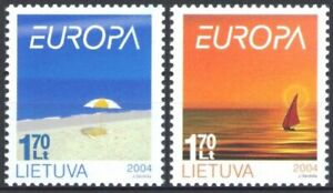 Mint stamps  Europa CEPT 2004   from  Lithuania  avdpz