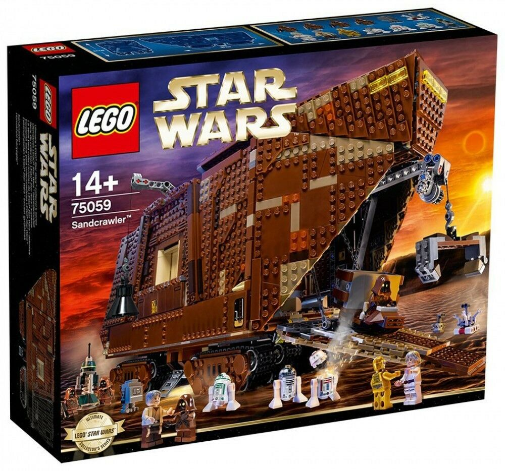 Lego Star Wars UCS - 75059 - Sandcrawler - NEUF et Scellé