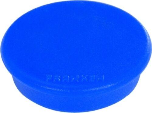 NEU /& OVP 10x Franken Haftmagnet 38mm Farbe blau Magnet rund Haftkraft 2500 gr