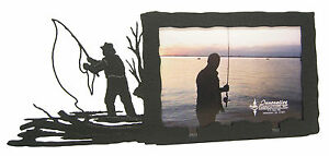 Fly-fishing-Picture-Frame-3-5-034-x5-034-3-034-x5-034-H-Fly-Fishing