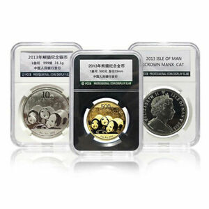 PCCB Holder Protector Coin Display Slab for NGC PCGS Grade Collection Box 14MM