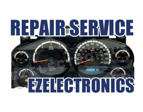 2007 TO 2014 GM GMC CHEVY TRUCKS INSTRUMENT CLUSTER REPAIR SERVICE