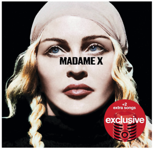 Madonna-Madame-X-Deluxe-CD-Bonus-Tracks-NEW-Medellin-Crave
