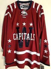 Reebok Premier NHL Jersey Washington Capitals Team Burgundy Winter Classic  Sz S 68a60051364