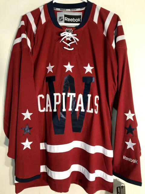 Reebok Premier NHL Jersey Washington Capitals Team Burgundy Winter Classic  sz S 2949c85ef2c