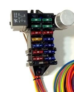 s-l300 Universal Street Rod Wiring Harness on vendors street rod wiring harness, universal street rod wiper motor, universal gm wiring harness, universal boat wiring harness, universal motorcycle wiring harness, bus with dimmer switch wire harness, universal street rod radiator, best street rod wiring harness, universal diesel wiring harness, universal street rod motor mounts, 18 circuit universal wiring harness, universal car wiring harness,