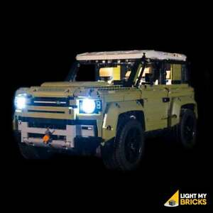 LIGHT-MY-BRICKS-LED-Light-kit-for-Lego-Land-Rover-Defender-set-42110-Lego-LED