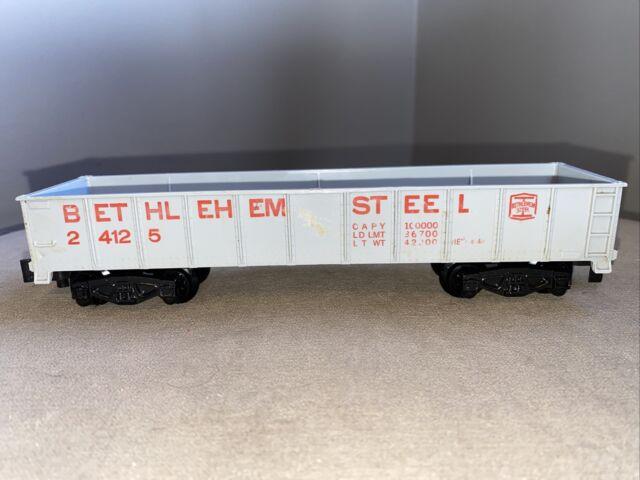 American Flyer S #24125 Bethlehem Steel GONDOLA  Model Train Railroad RR