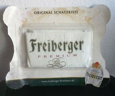 Grillschürze schatzkiste Mit Gewinnspiel Nachdenklich Freiberger Brauhaus Ovp,2006