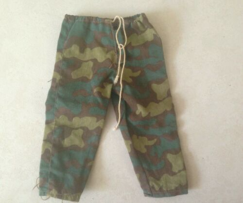1//6 SCALE ACTION FIGURE ITALIAN WWII CAMO PANTS
