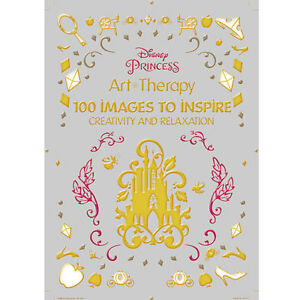 Image Is Loading Adult Coloring Book Disney Princess 100 Images To