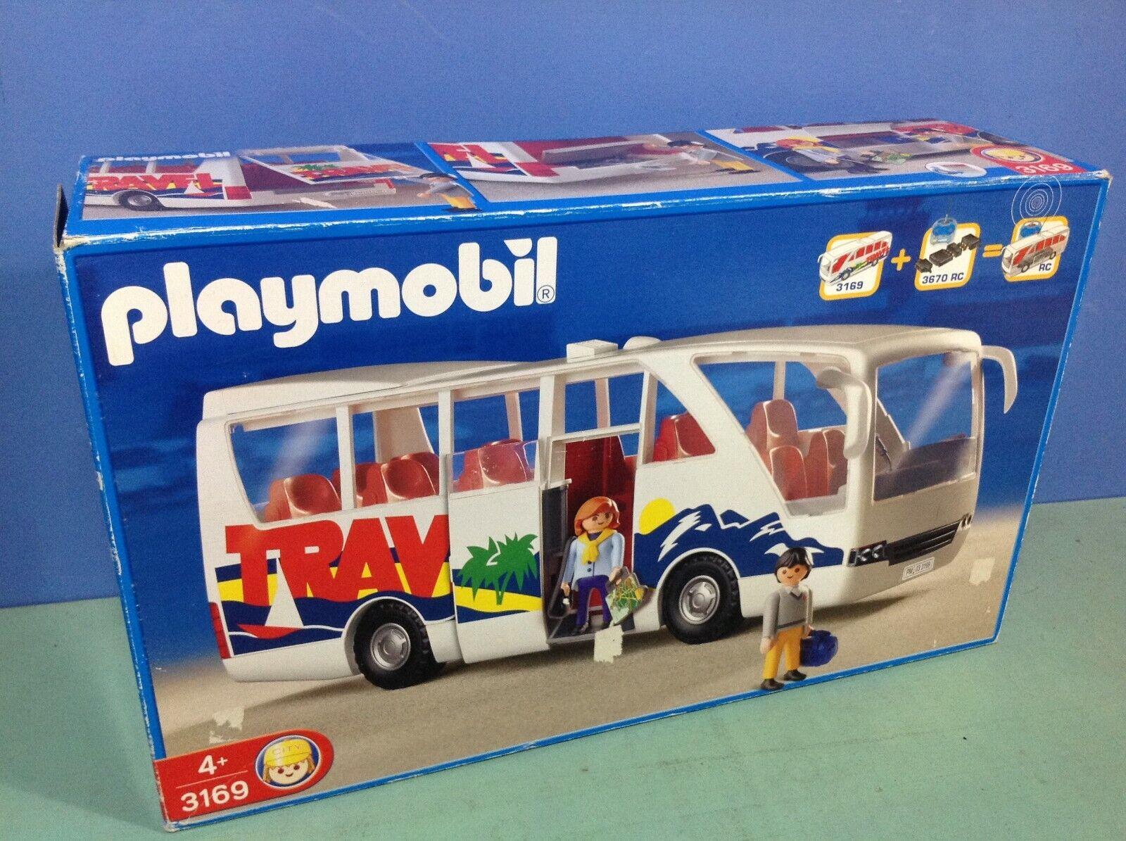(O3169) playmobil autobus travel ref 3169  en boite complète  consegna gratuita e veloce disponibile