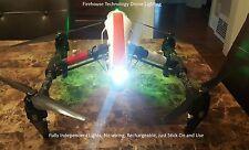 DRONE UAS LED LIGHT SPOTLIGHT RC DJI INSPIRE PHANTOM MAVIC YUNEEC LUME CUBE QUAD