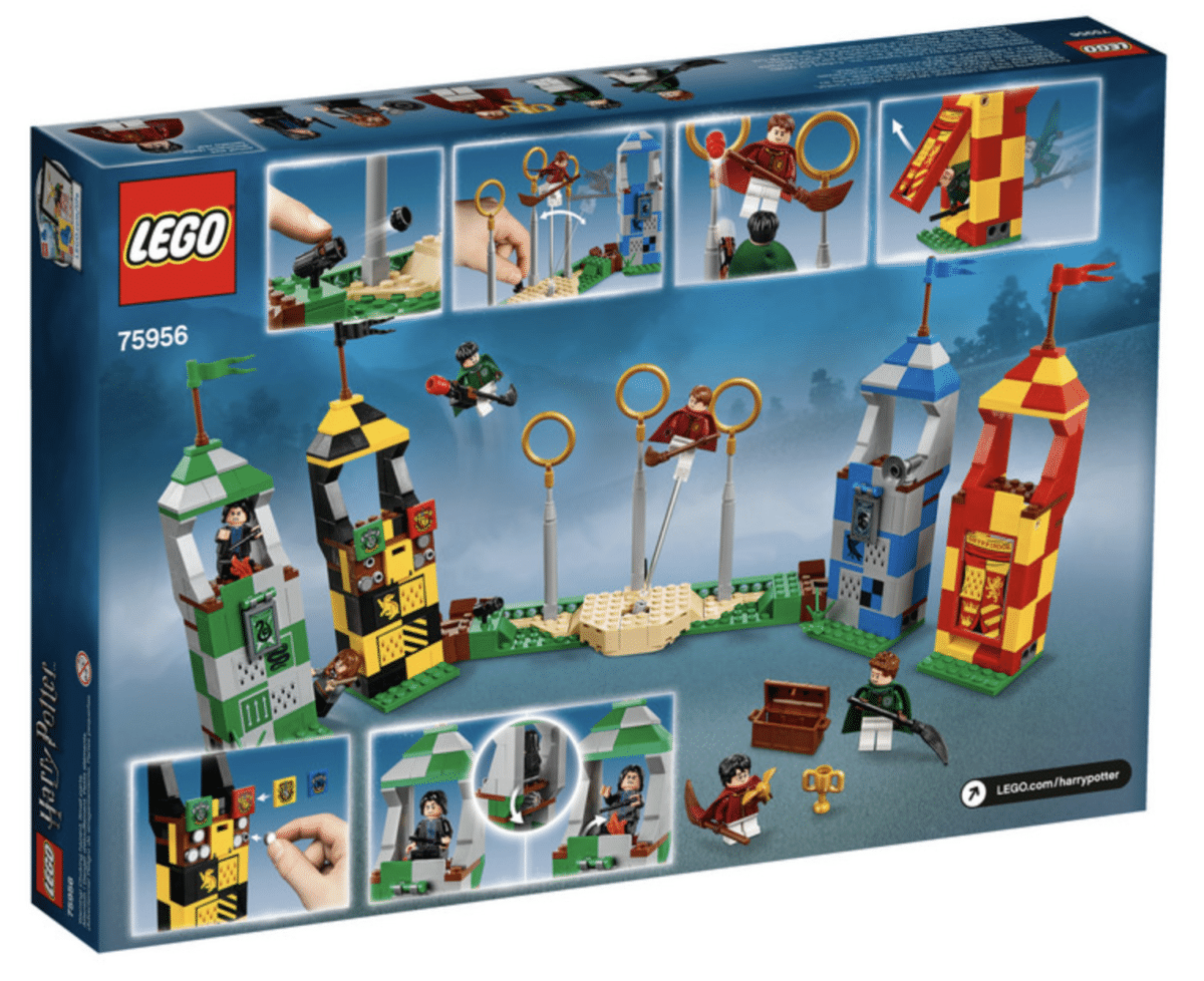 LEGO Harry Potter 75956 Quidditch™ Turnier Match Exclusive Exclusive Exclusive N10 18 a64817