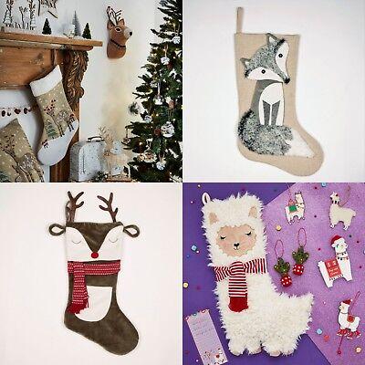 Llama Christmas Stocking.Sass Belle Fox Reindeer Llama Unicorn Christmas Stocking Xmas Home Decoration Ebay