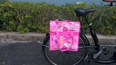 FASTRIDER SHOPPER PEONY Bike Pannier Bag Sand 17.5L Water Resistant Single NEW