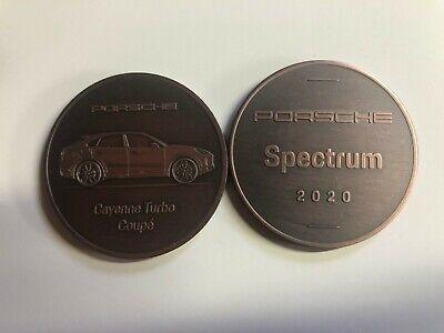 Awesome L@@K 1983 Porsche Christophorus Calendar Coin Münze RARE!