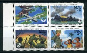 Palau-MiNr-402-05-D-postfrisch-MNH-Krieg-und-Frieden-E750