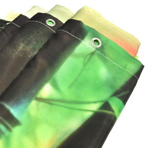 Bathroom Decor Hand Axe Waterproof Fabric Mildew Shower Curtain Liner /& 12 Hooks